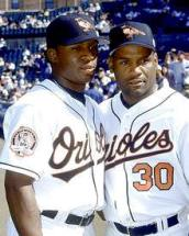 Tim Raines, Jr. and Tim Raines, Sr., 2001